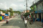 Eine typische Kleinstadt in Kolumbien.