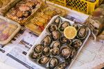 ...berühmt sind hier die Austern...