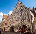 Stadt Tabor in Südböhmen mit ca. 40.000 Einwohnern...