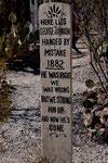 ....mit kuriosen Inschriften