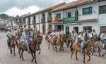....der Kolumbianer ist mit Herzen Reiter....