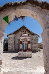 ...die Kirche von Parinacota...