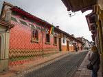 ….auch Bogotas Altstadt hat noch viel kolonialen Charakter.