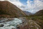 ...der wilde Rio Urubamba fließt irgendwann in den Amazonas...