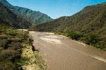 ....um diese Jahreszeit ist der Fluss sehr braun.....
