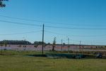 ...auch hat hier der Rio Uruguay Hochwasser...
