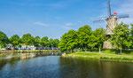 ganz viel Wasser gibt es rund um Middelburg