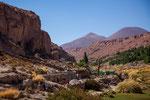 In diesem Canyon wird seid tausend Jahren Gemüse angebaut...
