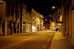 """""""altes"""" Licht lässt Bisbee bei Nacht wie vor hundert Jahren erscheinen"""