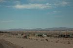 ...ziemlich arme Wüstengegend bei Arequipa...