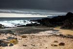 ...die wilde Felsenküste...
