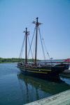 ehemaliges Versorgungsschiff