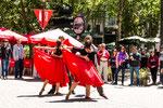 ...ein freier Platz und schwingen die Uruguayer das Tanzbein...