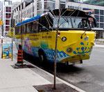 """""""Mondfahrzeug"""" - nein Touribus in Toronto down town"""