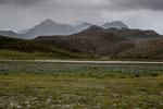 Im Hintergrund der Ruminahui mit seinen 3 Gipfeln....