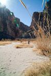 """... z.B. den """"Santa Elena Canyon""""...."""