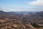 "Die Bergstrecke ab dem Ort ""Freirina""..."