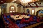...tolle Restaurants (hier ein Usbekisches)