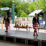 """Schottische Tänze im """"Forkviertel"""""""
