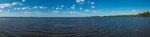 Der mächtige Rio Negro kurz vor seinem Zusammenfluss mit dem Rio Urugay...