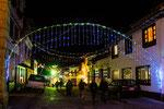 ....die Weihnachtsbeleuchtung ist sehr aufwendig.....