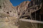 Dieser Boquillas Canyon würde heute nicht mehr entstehen