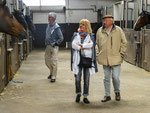 Lore and Alfred (right) Casper have the largest privat stud farm of South Germany