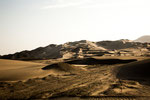 Vom Pazifik in die Berge geht es erst mal durch die Wüste....