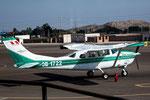 Unsere Maschine für den Nasca-Flug....