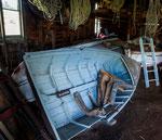 ...auch die Boote wurden hier selbst gefertigt...