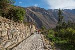 """...tolle Landschaft im fruchtbaren """"Valle Sagrado""""..."""