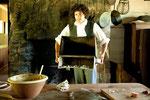 ...die Studenten backen sogar Brot in den alten Gemäuern