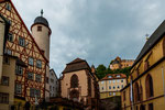 ...historic center with many half-timbered houses