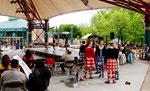 Schottische Tanzveranstaltung mit Prämierung