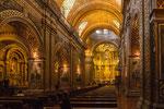 "....die unglaublich üppige Barockkirche ""La Compania de Jesus""...."