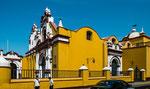 Die Kathedrale im Zentrum von Trujillo....