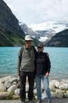 Lake Louse: Start unserer Wanderung