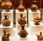 .....tolle Keramikarbeiten der Chachapoyas.....