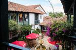 ….Villa de Leyva hat tolle Innenhöfe….