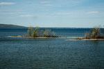 """""""Thousand Island"""" - oft nur so groß wie ein Häuschen darauf"""