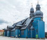 ...the largest wooden based church in Germany...