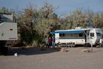 Campground at Furnace Creek with Phyl and Terry