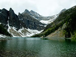 Lake Agnes auf 2.000 m Höhe