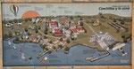 Die Siedlung und die Fabrik einschließlich Kraftwerk...