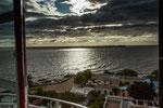 Die Szenerie am Rio de la Plata ist wunderschön...