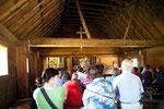 Die Kirche - hier wurden die Huronen konvertiert