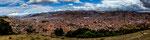 ...und im Tal liegt Cusco - ehemalige Hauptstadt der Inkas