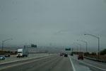 Las Vegas im Regen - ein seltener Anblick