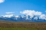 """Die Berge der """"Cordillera Huayhuash"""" mit vielen 6.000ern...."""