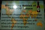 Tabasco ist eine weltberühmte Marke...